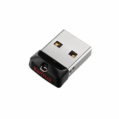 SanDisk Cruzer fit 2.0 USB-stick 16GB