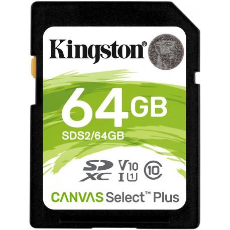 Kingston Canvas Select Plus SDXC 64GB 100MB/s