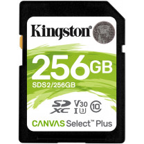 Kingston Canvas Select Plus SDXC 256GB 100MB/s