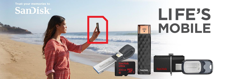 SanDisk Life's Mobile